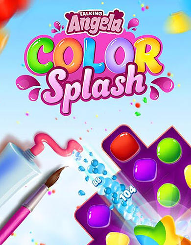Talking Angela color splash