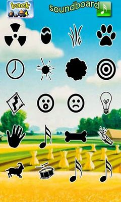 Capturas de pantalla de Talking Birds On A Wire para tabletas y teléfonos Android.