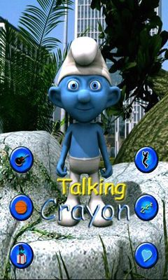 Talking Crayon poster