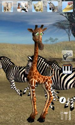 Download Talking George The Giraffe Android free game.