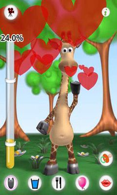 Talking Gina the Giraffe screenshot 1