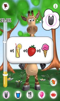 Talking Gina the Giraffe screenshot 2