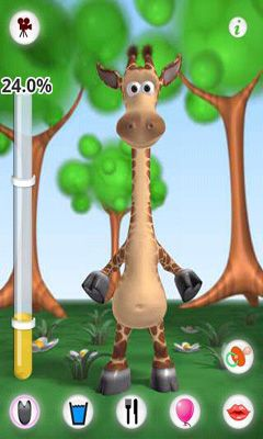 Talking Gina the Giraffe screenshot 3