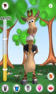 Talking Gina the Giraffe скриншот 5