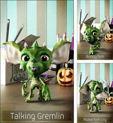 In addition to the game Talking Alan Alien for Android phones and tablets, you can also download Talking Gremlin for free.