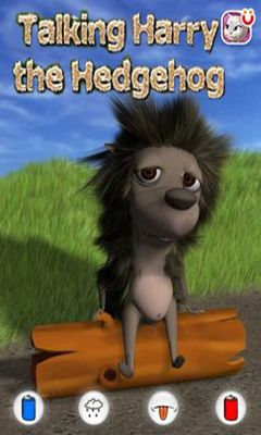 Talking Harry the Hedgehog обложка