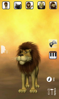 Download Talking Luis Lion Android free game.