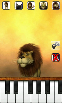 Screenshots von Talking Luis Lion für Android-Tablet, Smartphone.