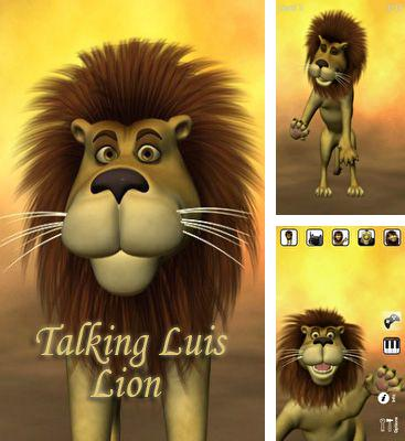 In addition to the game Talking Harry the Hedgehog for Android phones and tablets, you can also download Talking Luis Lion for free.