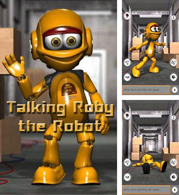 In addition to the game Talking Alan Alien for Android phones and tablets, you can also download Talking Roby the Robot for free.