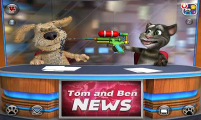 Скачати гру Talking Tom & Ben News на Андроїд телефон і планшет.