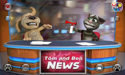 Гра Talking Tom & Ben News на Android - повна версія.