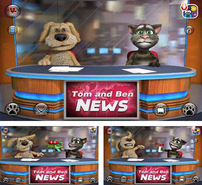 In addition to the game Talking Ben the Dog for Android phones and tablets, you can also download Talking Tom & Ben News for free.