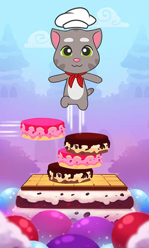 Jogue Talking Tom cake jump para Android. Jogo Talking Tom cake jump para download gratuito.