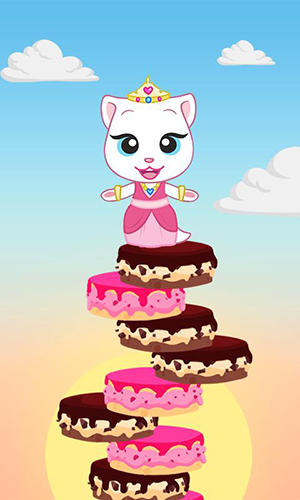 Screenshots do Talking Tom cake jump - Perigoso para tablet e celular Android.