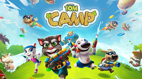 Talking Tom camp poster