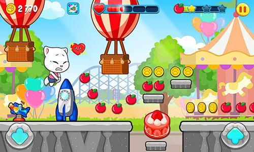 Kostenloses Android-Game Sprechender Tom: Süßigkeitenlauf. Vollversion der Android-apk-App Hirschjäger: Die Talking Tom candy run für Tablets und Telefone.