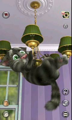 安卓平板、手机Talking Tom Cat 2截图。