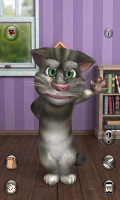 Screenshots von Talking Tom Cat 2 für Android-Tablet, Smartphone.