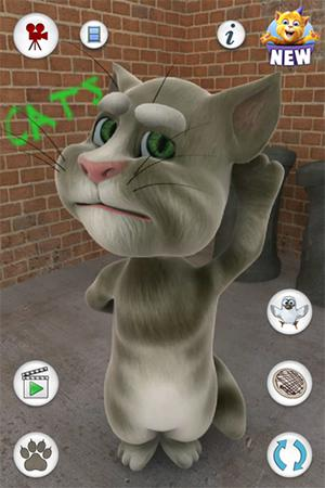 Talking Tom Cat v1.1.5 скриншот 2
