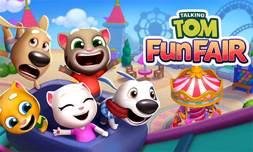 Talking Tom fun fair poster