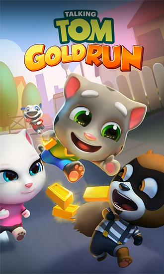Talking Tom: Gold run обложка