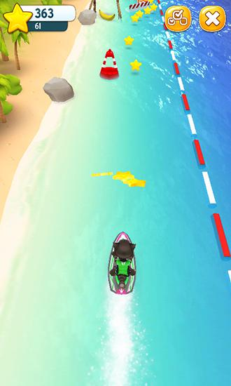 Talking Tom jetski screenshot 3