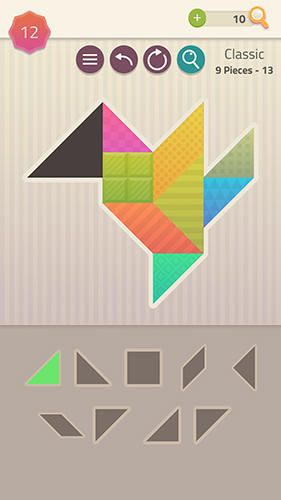 Screenshots von Tangrams and blocks für Android-Tablet, Smartphone.