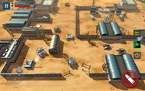 Download Tank battle heroes Android free game.