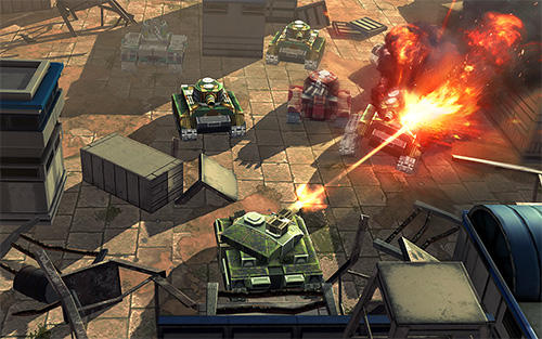 Screenshots von Tank battle heroes für Android-Tablet, Smartphone.