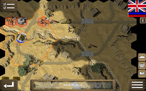 Screenshots von Tank battle: North Africa für Android-Tablet, Smartphone.