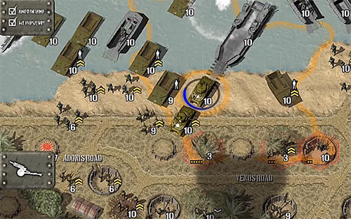 Screenshots von Tank battle: Pacific für Android-Tablet, Smartphone.
