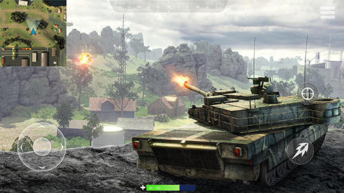 Tank battleground: Battle royale screenshot 1