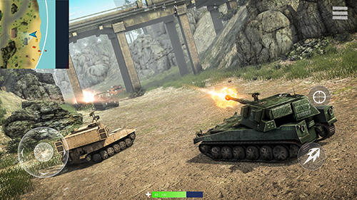 Tank battleground: Battle royale screenshot 2