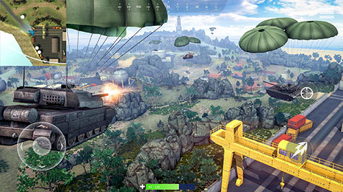 Tank battleground: Battle royale screenshot 3