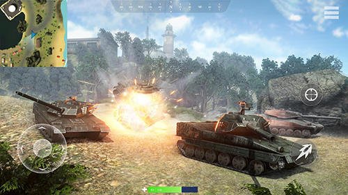 Tank battleground: Battle royale screenshot 4