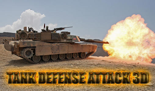 Tank defense attack 3D poster
