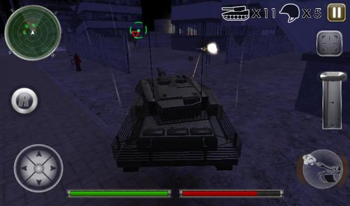 Tank defense attack 3D screenshot 2