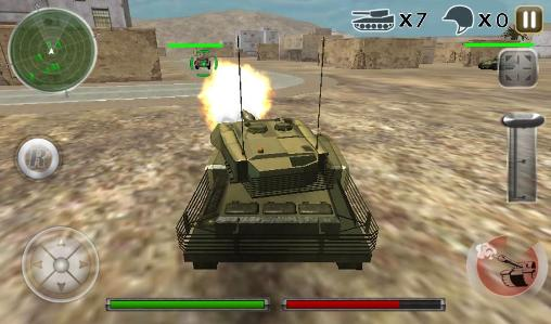 Tank defense attack 3D screenshot 4
