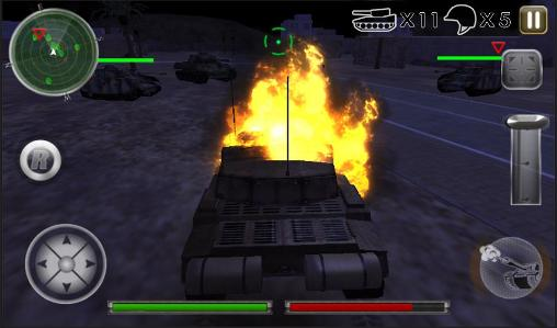 Tank defense attack 3D screenshot 5