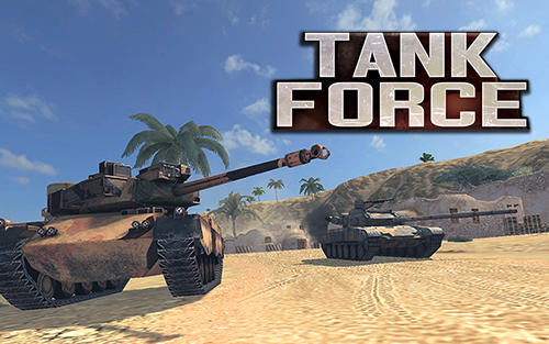 Tank force: Real tank war online poster