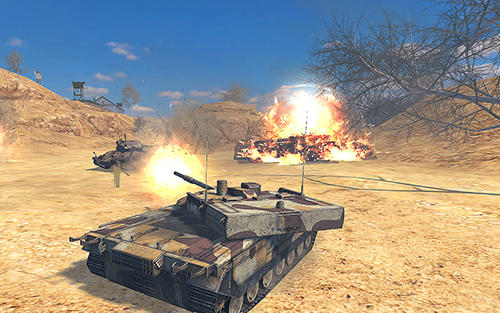 Kostenloses Android-Game Tank Force: Echter Panzerkrieg Online. Vollversion der Android-apk-App Hirschjäger: Die Tank force: Real tank war online für Tablets und Telefone.