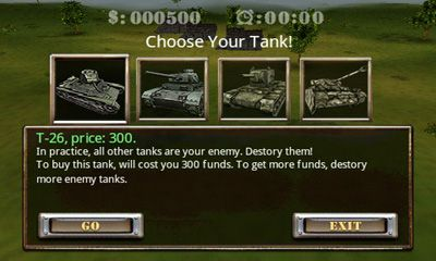 Tank Fury 3D screenshot 1