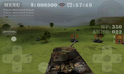Tank Fury 3D screenshot 2