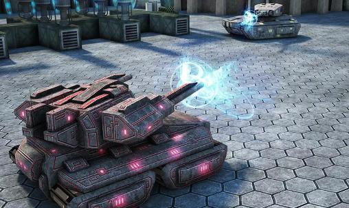 Screenshots von Tank future force 2050 für Android-Tablet, Smartphone.