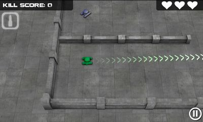 Screenshots do Tank Hero - Perigoso para tablet e celular Android.