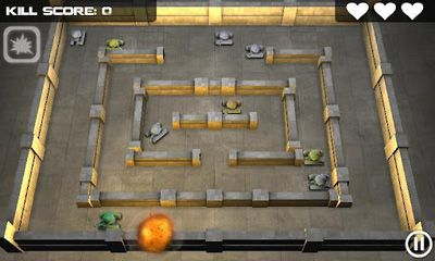 Screenshots von Tank Hero für Android-Tablet, Smartphone.