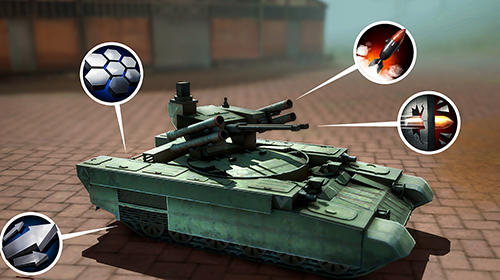 Tank hunters: Battle duels screenshot 1