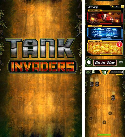 In addition to the game Cubicle Golf for Android phones and tablets, you can also download Tank invaders for free.