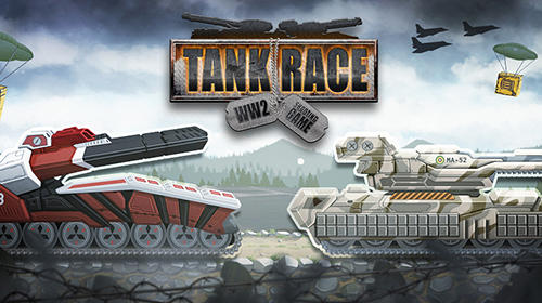Tank race: WW2 shooting game poster